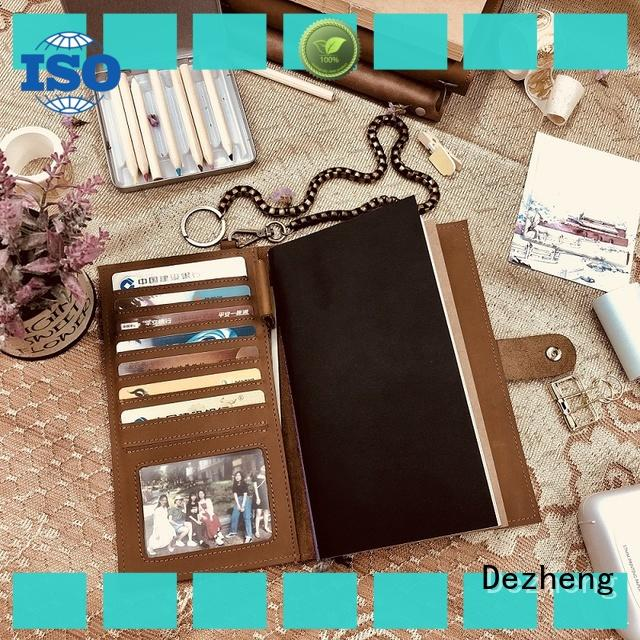 Dezheng buy leather journal Supply For meeting