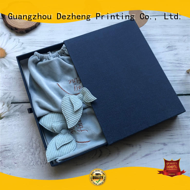 Dezheng flip cardboard packing boxes manufacturers for gift