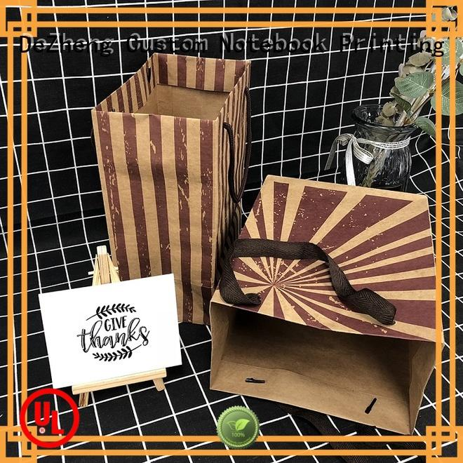 Dezheng latest custom paper bags get quote for festival