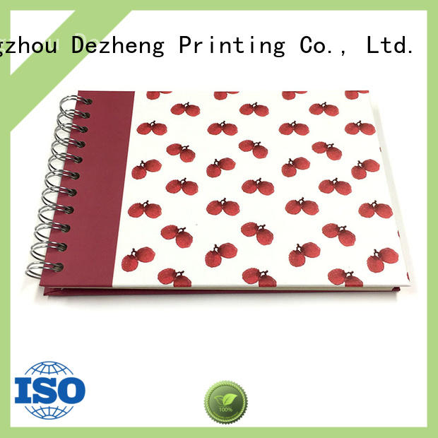 Dezheng durableBest scrapbook style photo album factory for friendship