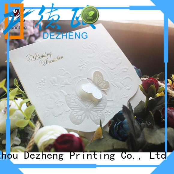 Dezheng High-quality bulk greeting cards