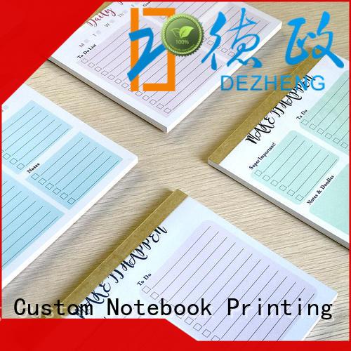 Dezheng quality to do list planner bulk production