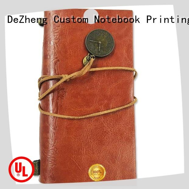 Dezheng travelers personalised notebooks ODM For DIY