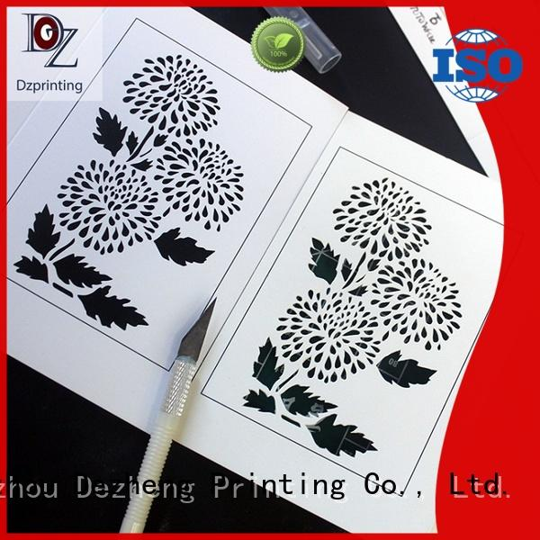Dezheng greeting card design Supply