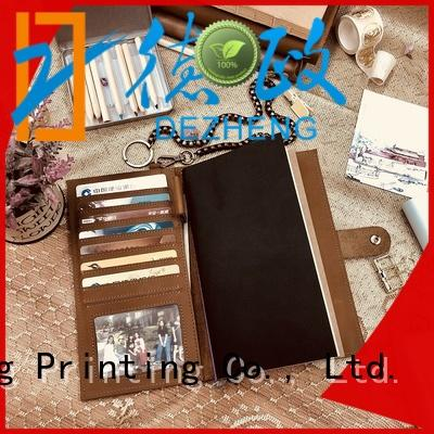 Latest leather diary book for wholesale For student