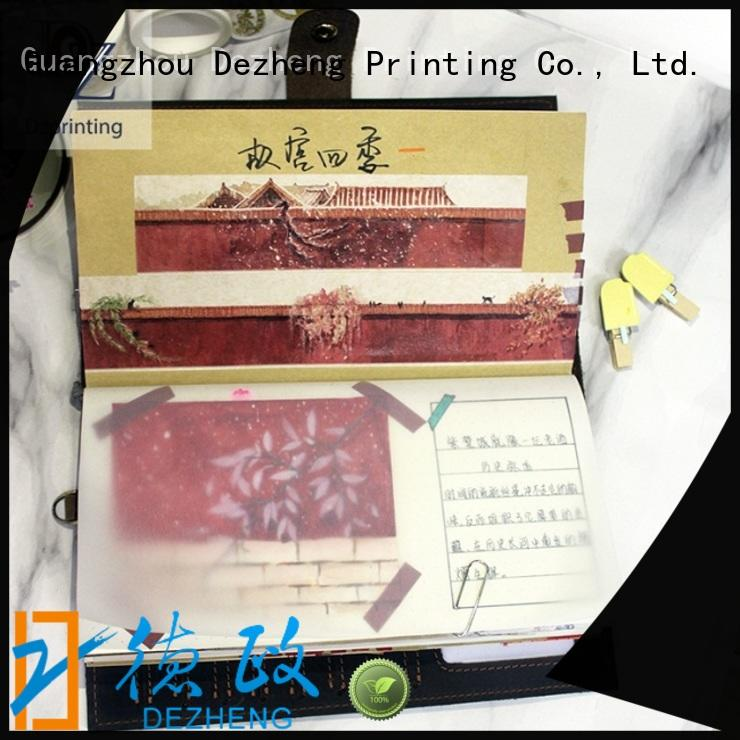 Dezheng Latest best leather bound journals For business
