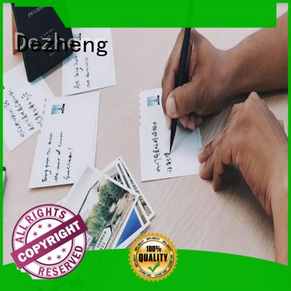 Dezheng solid mesh blank envelope for wholesale for greeting