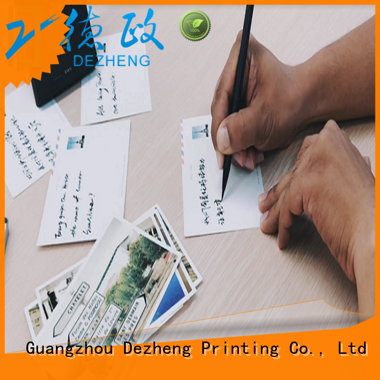 Dezheng durable gift card manufacturers Suppliers for friendship