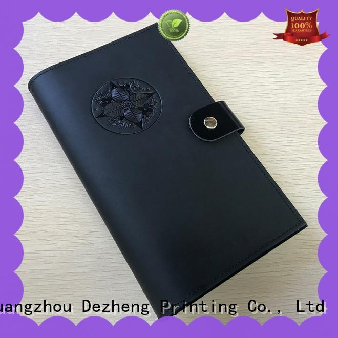 durable custom leather journal covers for wholesale For student