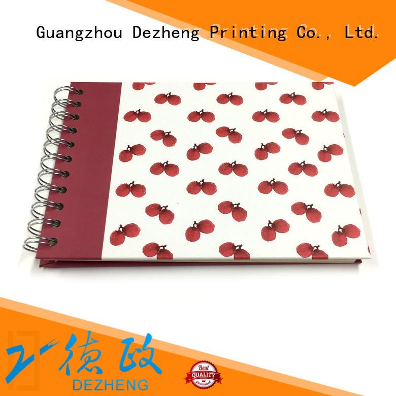 Dezheng binding scrapbook photo album for wholesale for friendship