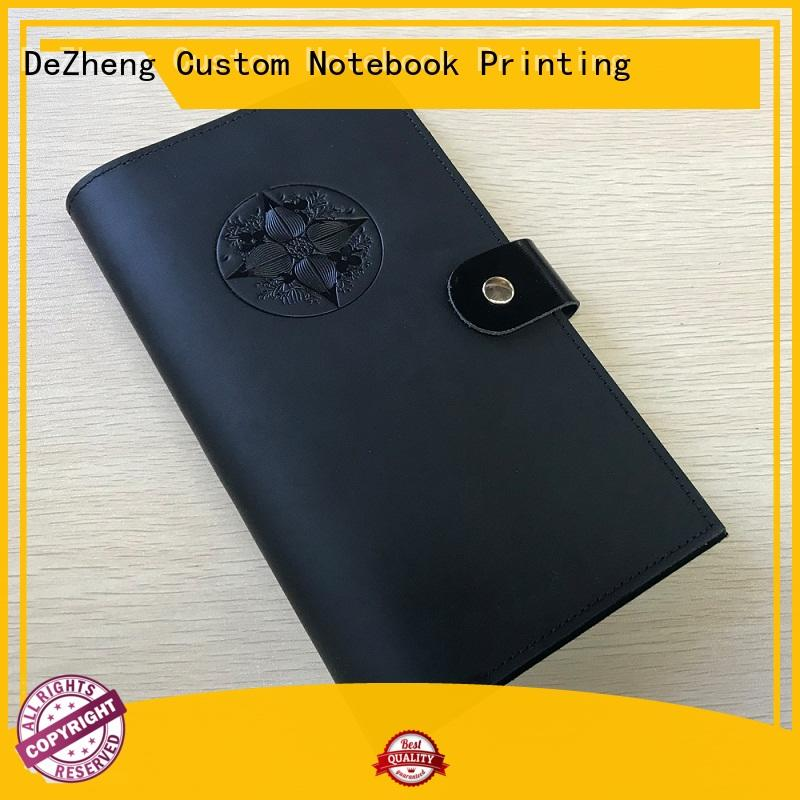 Dezheng personalized journal notebook bulk production