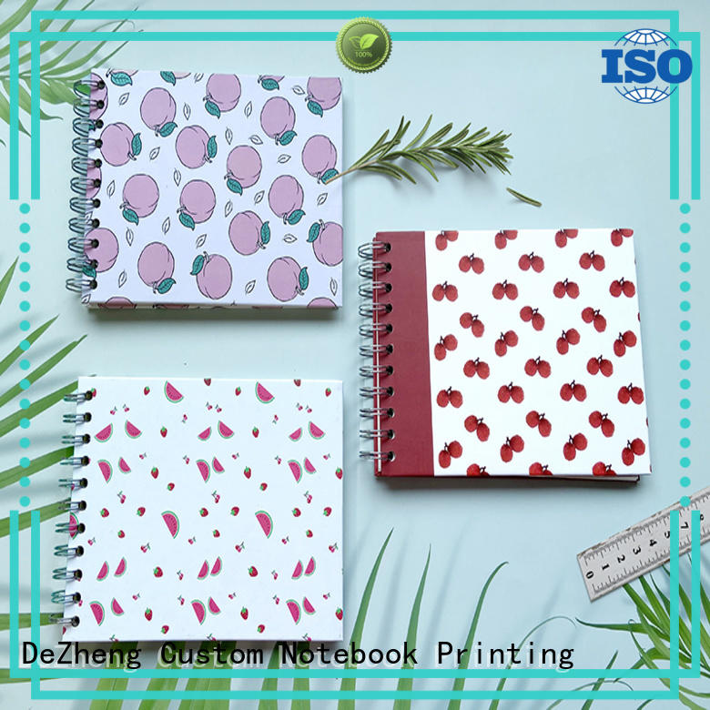 Dezheng square personalised self adhesive photo albums manufacturers for friendship