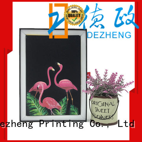 Dezheng latest leather bound notebook get quote For school