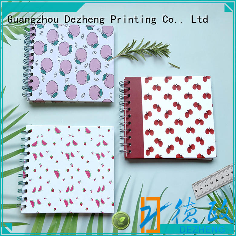 Dezheng High-quality photo album scrapbook customization for festival