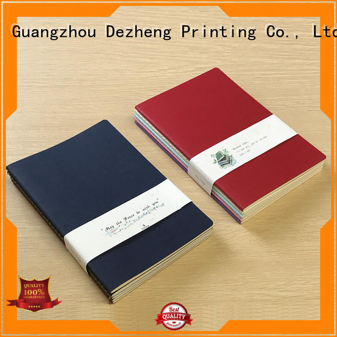 notebooks blank paper notebook ODM For student Dezheng