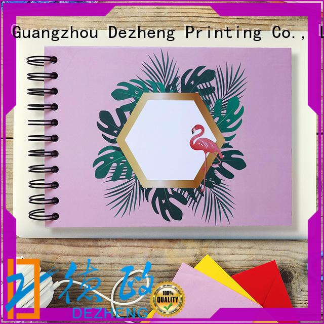 Dezheng scrapbook style photo album company for festival